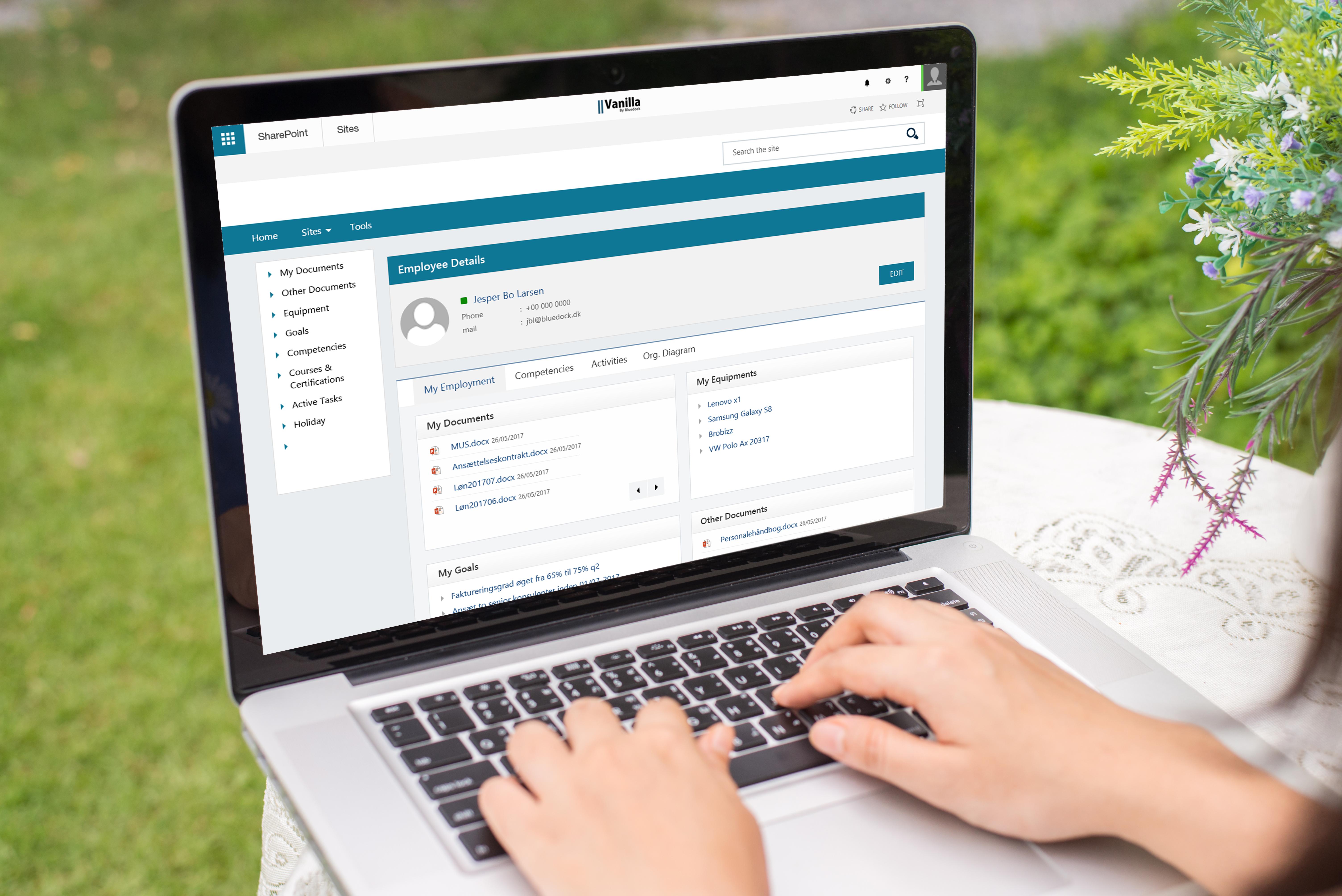 HR portal SharePoint
