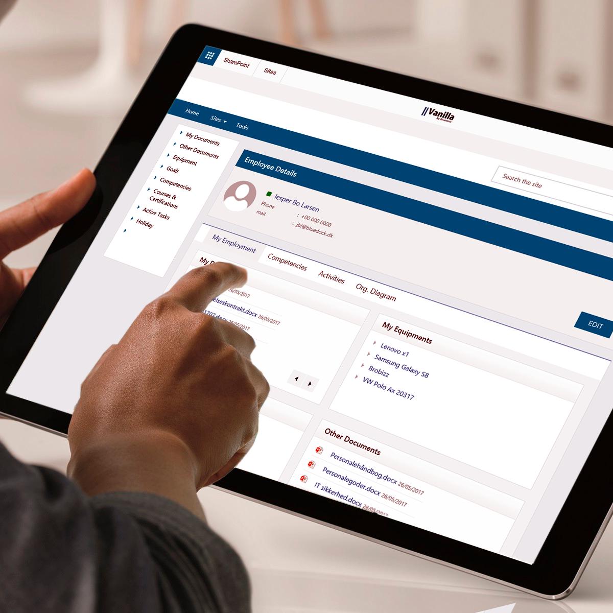 Brugervenligt HR Portal